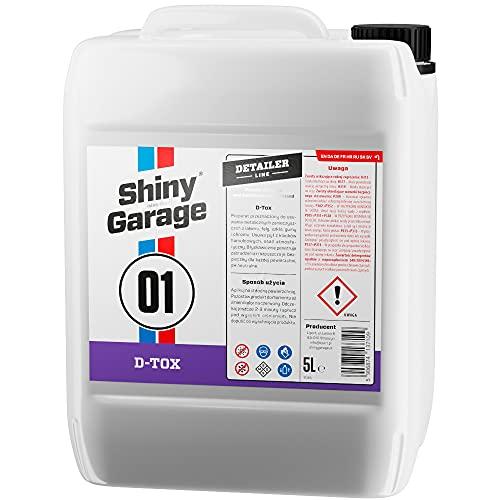 Shiny Garage D-Tox Flugrostentferner Auto 5000 ml - Rostentferner Auto - Rostumwandler - Flugrost Entfernen - Felgenreiniger Alufelgen - Felgen Reinigung - Rust Remover