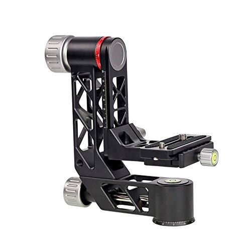 Testa panoramica del treppiede del cardanico della testa del treppiede con il piatto di QR adatto per varie macchine fotografiche
