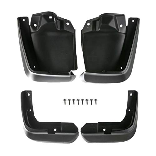 A-Premium Splash Guards Mud Flaps Mudflaps Replacement for Honda Civic 2012-2015 Sedan Front and Rear 4-PC Set