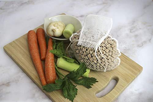 Fackelmann Malla Cocina, Nylon, Blanco, 36,5 cm