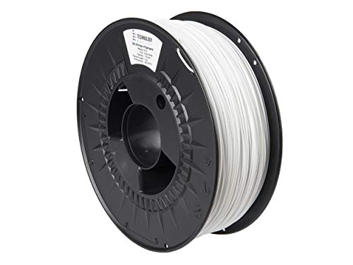 TECHNOLOGYOUTLET Premium 3D Printer Filament 1.75MM PLA Arctic White