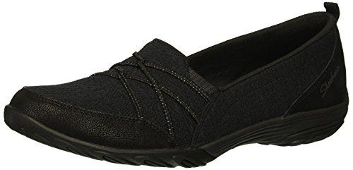 Skechers Zapatillas Empress-Cozy-Ness para mujer, negro (Negro), 36.5 EU