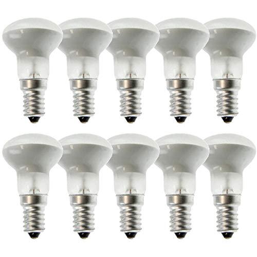 10 x Reflektorlampe Glühbirne R39 30W E14 matt Reflektor warmweiß 2700K dimmbar