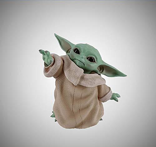 Meister Yodas babyähnliche Statue Star Wars Mandalorianische Statue Yoda Alien Dekoration