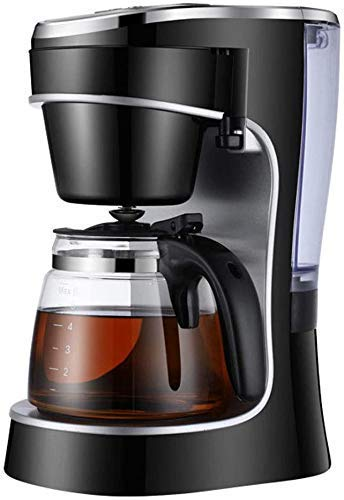 Electric Coffee Makers 10 Cup Programmable Smart Drip Coffee Maker Brew Machine with Glass Carafe LED Digital Screen Removable Mesh Filter Basket Black SZWHO