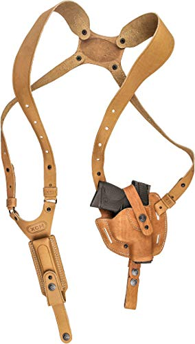 XCH Shoulder Holster for Sig Sauer P938 / P238, M&P Compact, M&P Shield, Springfield 911, Glock Slimline Series: -36, -43, -42, Colt Defender