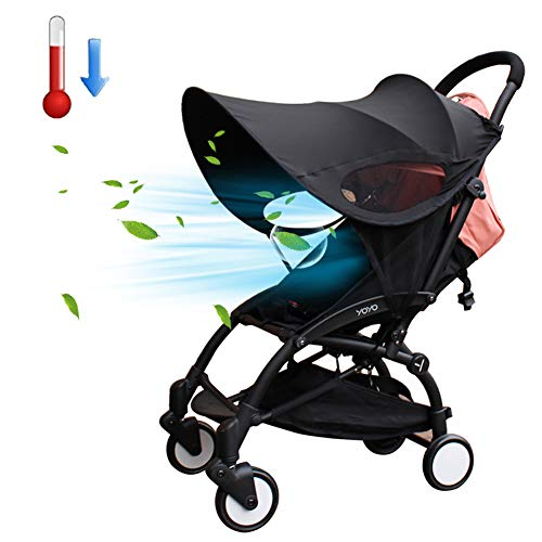 Poussette Protection solaire universel Baby Pare-Soleil pour poussette Poussette Parasol avec protection UV 50