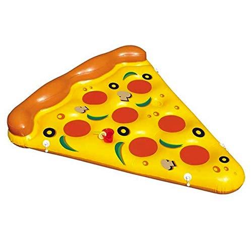 Premium luchtmatras Pizza (183 x 145 cm) matras opblaasbaar lucht matras luchtbed ligstoel zwemring zwemring zwemring zwembad lounge
