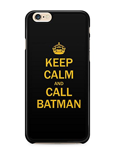 MyHomeCase Coque Iphone 5C Keep Calm Call Batman Bords Noirs Silicone