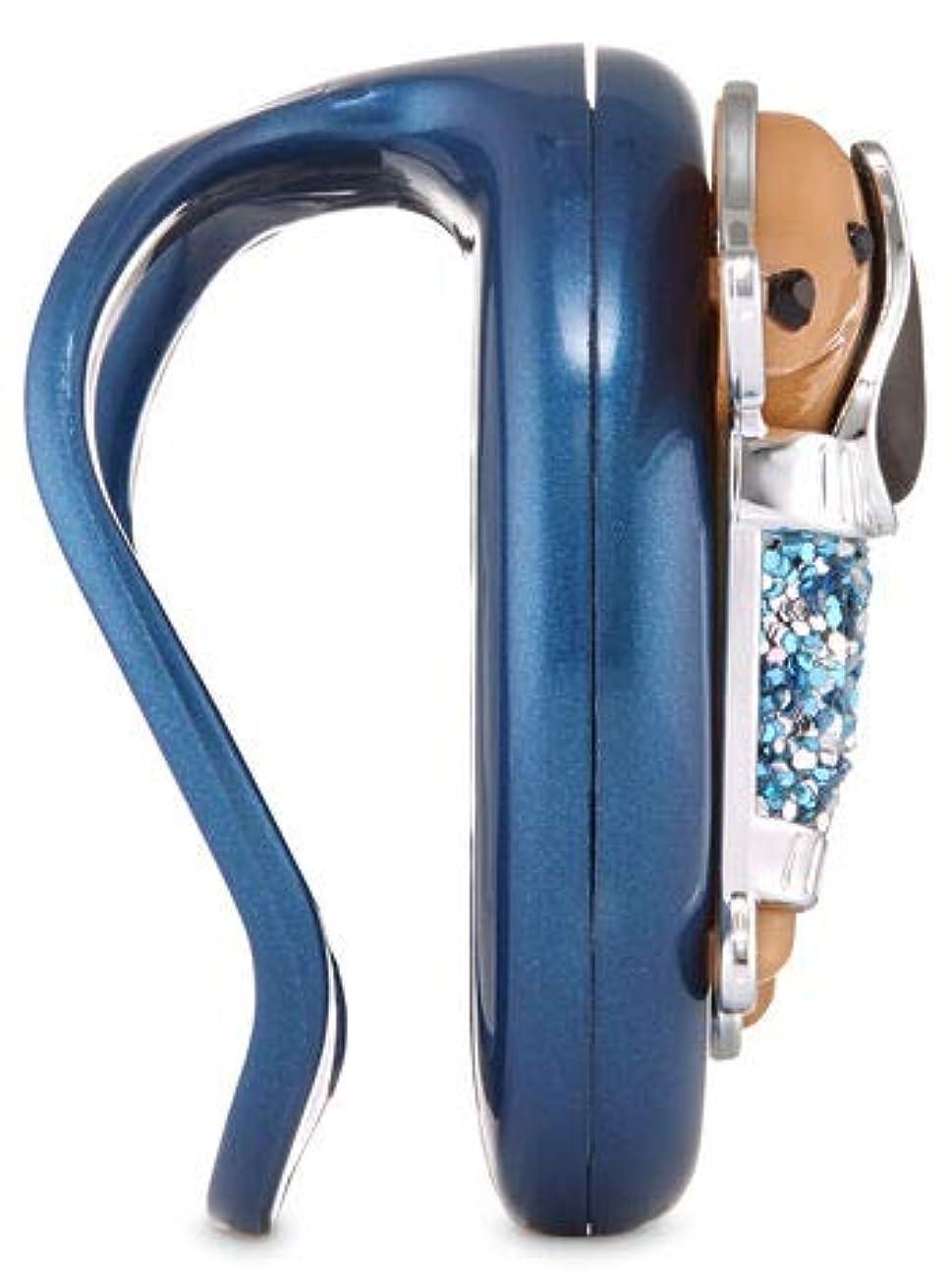 受粉する補正関与する【Bath&Body Works/バス&ボディワークス】 クリップ式芳香剤 カーフレグランスホルダー セントポータブル ホルダー (本体ケースのみ) ドレッシーダックスフンド Scentportable Holder Dressy Dachshund Visor Clip [並行輸入品]