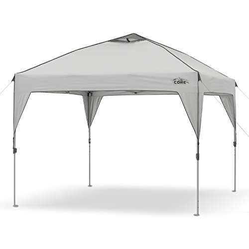 CORE 10' x 10' Instant Shelter Pop-Up Canopy Tent with Wheeled Carry Bag