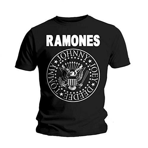 Universal Music Shirts Ramones - Hey Ho Let's Go 0904625 Unisex - Erwachsene Shirts/ T-Shirts, Gr. XL, Schwarz (schwarz)
