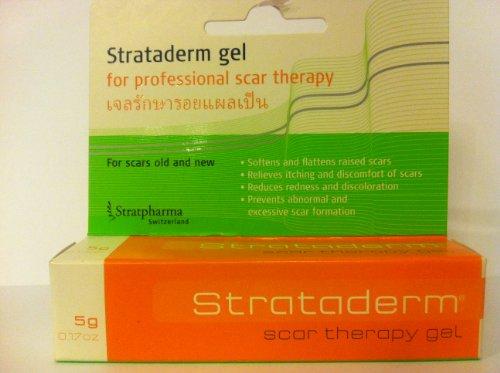 Strataderm Gel für professionelle Narbentherapie gegen Narben, Alte und Neue, 5 g