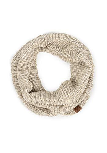DESIRES Poll Damen Loop Schal, Größe:ONE SIZE, Farbe:Dune (5409)