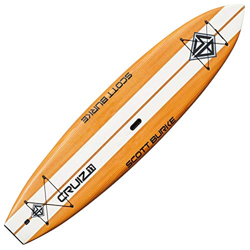Burke 11-ft. Cruiz V-Hull Stand-Up Paddleboard Package