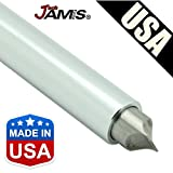 JamisDIRECT USA Golf Club U V Square Wedge Iron Groove Sharpener Cleaner Regrooving Tool Lifetime Warranty - Made in USA
