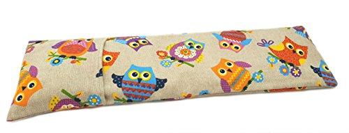 pequeño y compacto Bolsa Thermoneck con semillas de trigo 50x16cm revestimiento lavable (OWL)