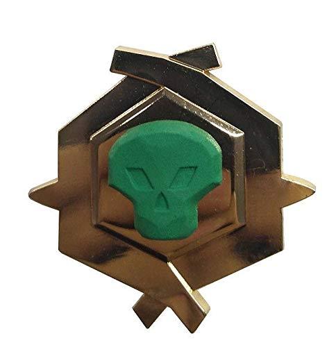 FaNaTtik Sea of Thieves Pin Badge Pirate Legend Limited Edition Glow in The Dark