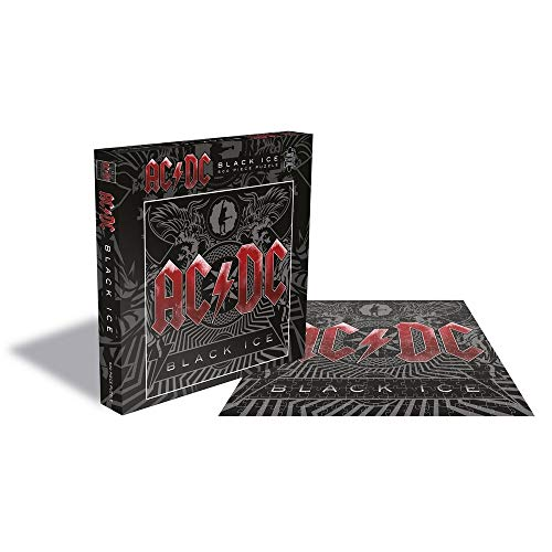 ACDC PHD Merchandise AC/DC Rock Saws Jigsaw Puzzle Black Ice (500 Pieces)