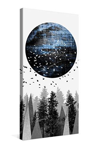PICANOVA – Nature 50x100cm – Cuadro sobre Lienzo – Impresión En Lienzo Montado sobre Marco De Madera (2cm) – Disponible En Varios Tamaños – Fotomural por Elisabeth Fredriksson