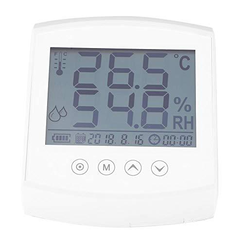 Igrometro digitale, strumento di misurazione ambientale del misuratore di umidità del termometro, monitorare la temperatura ambiente e l'umidità attuali