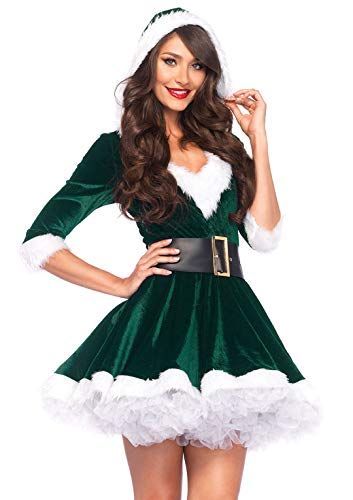 Leg Avenue Women's Mrs. Claus, Green, Medium/Large