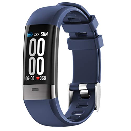 VRTUR Fitness Uhr Smartwatch Temperatur Blutdruck, Herzfrequenz, EKG,...