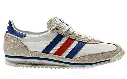 adidas Originals SL 72, Footwear White-Glory Blue-Glory Red, 5,5