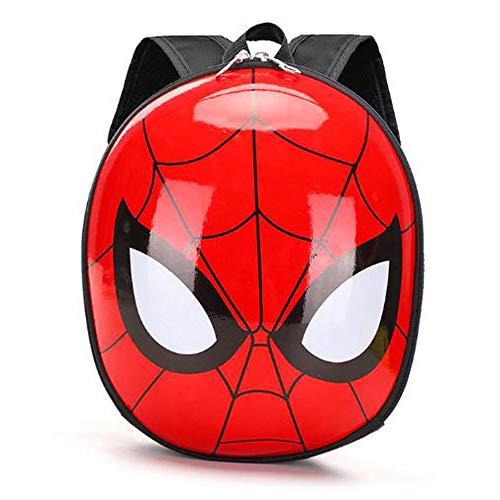 Zainetto asilo bambino Spiderman in 3D zaino bambino da 1 a 4 anni solido pratico facile da usare articolo resistente.