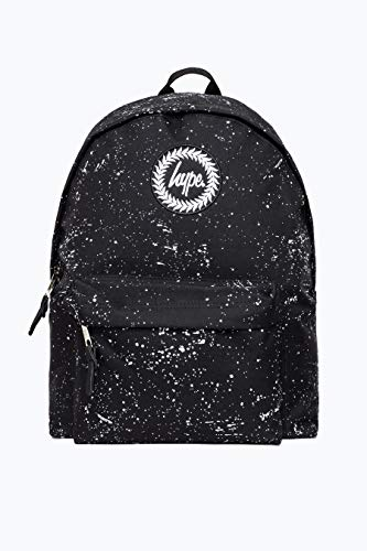 HYPE BLACK WITH WHITE SPECKLE BACKPACK Size: One Size