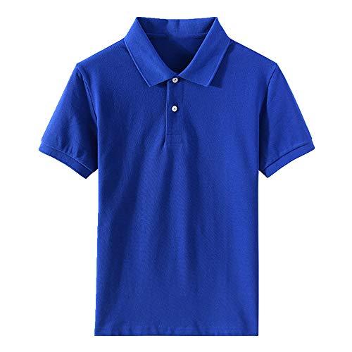 N\P Verano Hombres Solapa Manga Corta Camisa Casual Camiseta Hombres