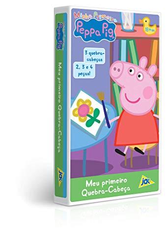 Quebra Cabeça 2/3/4 Minha Primeira Peppa Pig Me Toyster Brinquedos