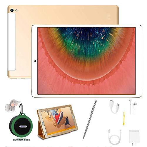 Tablet 10.1 Pulgadas Buenas 4G 128GB TF y 4GB RAM 64GB ROM Android 9.0 Pie Tablet PC 10.1