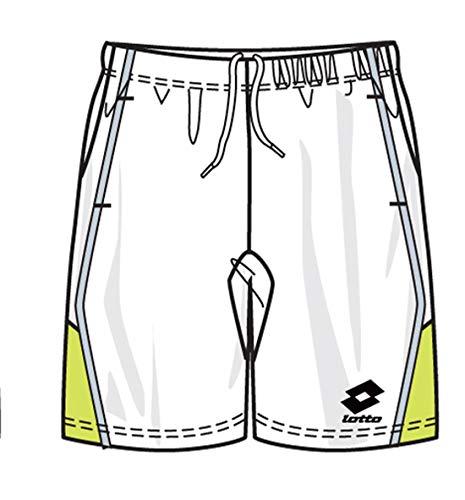 Lotto Pantalon Shock, Messieurs, White/liz. Green, Homme, White/liz.Green, XL (52)