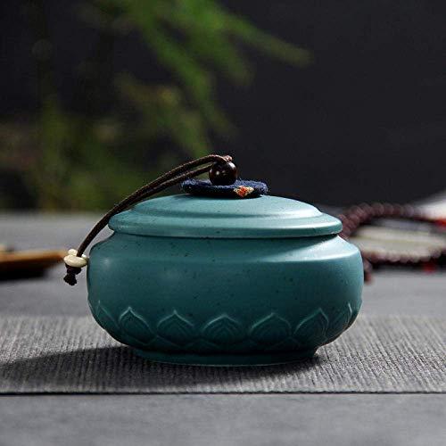 LYPY Pot à thé Pot à thé en céramique Pot scellé thé créatif Maison maçonnerie Ornements Ensemble de thé Accessoires Salon Bureau comptoir Bijoux déco