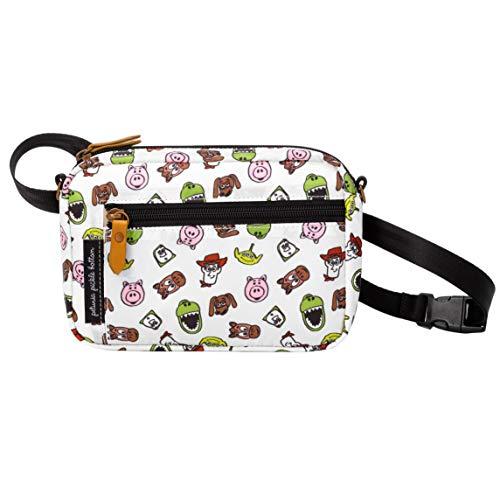 Petunia Pickle Bottom Adventurer Belt Bag for Women | Toy Story Friends Disney Collaboration | Wristlet, Crossbody Strap, Waist Belt, Purse, Wallet | Versatile, Fashionable