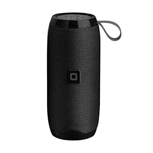 SBS Speaker JAM wireless stereo 10W, tasti multifunzione, funzione vivavoce, lettore SD/TF Card, ingresso AUX, entrata USB per collegare chiavetta, rivestito in tessuto, colore nero