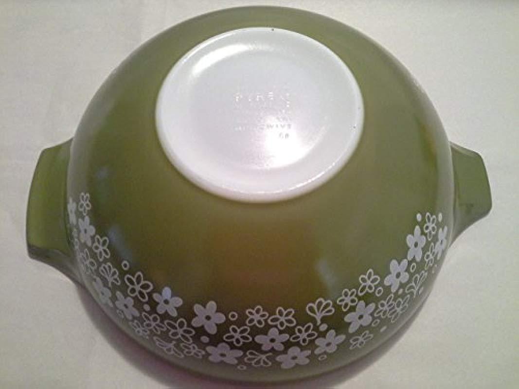 Vintage 1970 S Spring Blossom 4 Quart Cinderella Mixing Nesting Batter Bowl 444