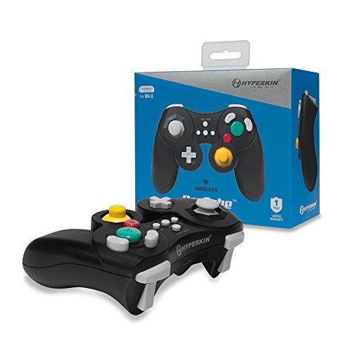 Hyperkin - Mando ProCube Wireless, Color Negro (Nintendo Wii U)