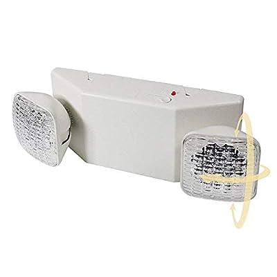 eTopLighting 1pcs x LED Emergency Exit Light - Standard Square Head UL924, EL5C12