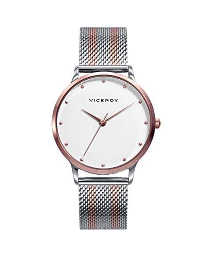Viceroy Kiss - Reloj Mujer Acero Bicolor Oro Rosa 461096-87