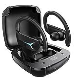 Écouteur Bluetooth AOVOCE Écouteurs sans Fil Sport Oreillettes 5.1 Casque Bluetooth 50H...