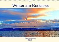 Winter am Bodensee - Magische Lichtblicke (Wandkalender 2022 DIN A3 quer): Der Bodensee ist auch im Winter ein absolutes Highlight (Monatskalender, 14 Seiten )