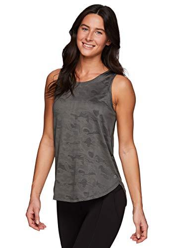 RBX Active Damen-Tanktop mit Netz-Belüftung, ärmellos, athletisch, Performance, Laufen, Workout, Yoga