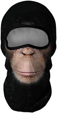 Venswell 3D Animal Balaclava Face Mask Ski Mask Dog Cat Wolf Shark Gorilla Funny Mask for Men product image