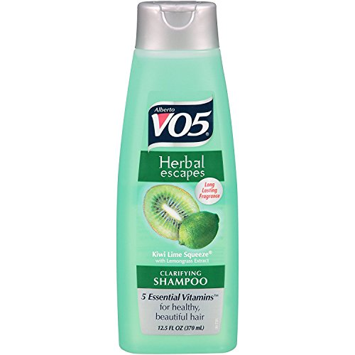 Alberto Vo5 Herbal Escapes Kiwi Lime Squeeze Klärendes Shampoo 370 ml
