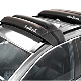 HandiRack Premium Roof Rack Crossbars (Pair); The Original Inflatable Roof Rack; Perfect for Kayaks, Canoes, Surfboards, SUPs & More; Includes Tie Downs and Bow & Stern Lines; Universal Size Fits Cars & SUVs; Heavy Duty 175 Pound Load Capacity; Black