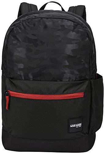 Case-Logic CCAM-2126 - Mochila de 26 litros, versátil, Cuerpo de Tela, Base Acolchada y Resistente, poliéster 1200D, Color Negro