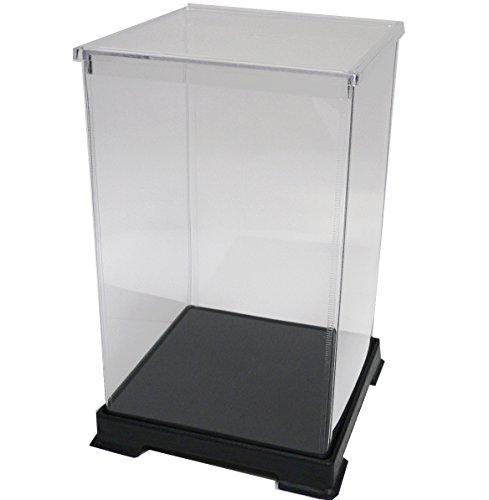 かしばこ商店 透明フィギュアケース 181827 プラスチック 組立式 W180×D180×H270mm ディスプレイケース