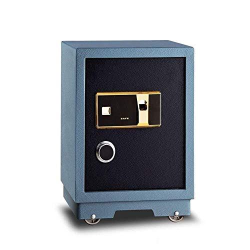 Rfeng Office Safe Box Safe 57cm Hoge Huishoudelijke Vingerafdruk Kluis Alarm Anti-diefstal Muur Veilig (Kleur: Foto kleur, Grootte : 57x38x36cm)